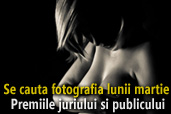 Se cauta fotografia lunii martie - Premiile juriului si publicului