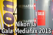 Nikon la Gala Mediafax 2013