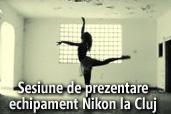Sesiune de prezentare echipament Nikon la Cluj