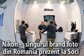 Nikon -  singurul brand foto din Romania prezent la Soci