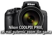 Nikon COOLPIX P900 - cel mai puternic zoom optic din gama