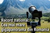 Record national: Cea mai mare gigapanorama din Romania realizata cu Nikon D800 si NIKKOR AF-S 800mm