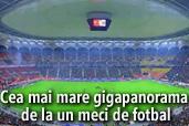 Nikon D800 in spatele celei mai mari gigapanorame de la un meci de fotbal din Romania