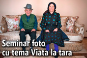 LIVE: Seminar foto cu tema Viata la tara