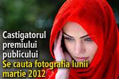 Se cauta fotografia lunii martie 2012 - Castigatorul premiului publicului