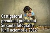 Se cauta fotografia lunii octombrie 2012 - Castigatorul premiului publicului