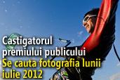 Se cauta fotografia lunii iulie 2012 - Castigatorul premiului publicului
