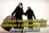 Se cauta fotografiile lunilor noiembrie si decembrie 2012 - Castigatorii premiului publicului