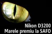 Castiga un Nikon D3200 la concursul SAFO, editia a III-a