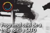 Programul celei de-a treia editii a salonului de fotografie SAFO