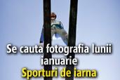 Se cauta fotografia lunii ianuarie: Sporturi de iarna