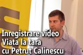 """Inregistrare video: Seminar foto """"Viata la tara"""" cu Petrut Calinescu"""