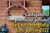 Se cauta fotografia lunii aprilie 2012 - Castigatorul premiului juriului