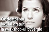 Castigatoarea locului gratuit la workshop-ul de nunta bySergio