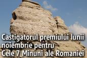 Castigatorul premiului lunii noiembrie pentru Cele 7 Minuni ale Romaniei