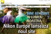 Nikon Europe lanseaza noul site