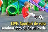 LIVE: Sporturi de vara - seminar foto cu Cristi Preda, Gazeta Sporturilor