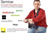 Seminar fotografie de stock cu Laurentiu Iordache