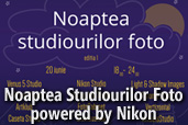 Noaptea Studiourilor Foto - powered by Nikon