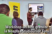 Workshop-uri foto gratuite la Noaptea Studiourilor Foto