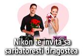 Concurs SUNT Dragostea ta: Nikon te invita sa sarbatoresti dragostea