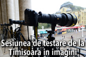 Sesiunea de testare de la Timisoara in imagini