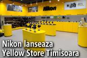 Nikon lanseaza primul magazin Yellow Store ce ofera studio foto  in Iulius Mall Timisoara