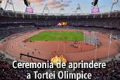 Intalnirea nikonistilor -  Ceremonia de aprindere a Tortei Olimpice