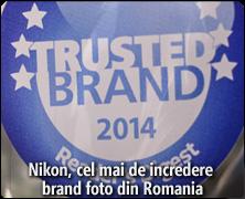 Nikon, cel mai de incredere brand foto din Romania