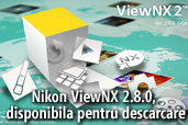Nikon ViewNX 2.8.0, disponibila pentru descarcare
