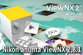Nikon anunta ViewNX 2.8.1