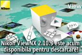 Nikon ViewNX 2.10.3 este acum disponibila pentru descarcare!