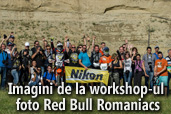 Imagini de la workshop-ul foto Red Bull Romaniacs