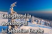 Castigatorul locului gratuit la workshop-ul lui Sebastian Enache