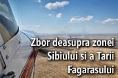 Zbor deasupra zonei Sibiului si a Tarii Fagarasului - Dragos Asaftei